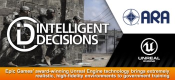 Unreal Engine 3 US Army training banner