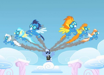 My Little Pony Friendship Is Magic Wonderbolts