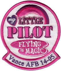 US Air Force My Little Pilot Patch