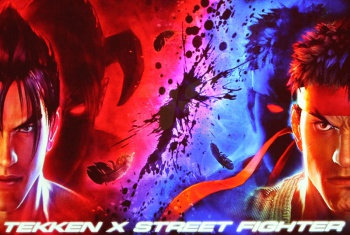 tekken x street fighter promotional image