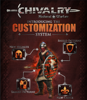 chivalry medieval warfare customization system