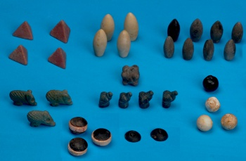 ancient board game pieces