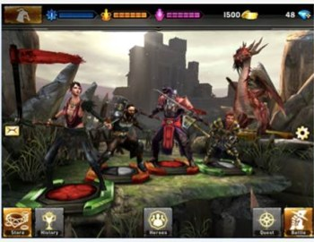 Heroes of Dragon Age screen