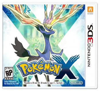 Pokémon X box art