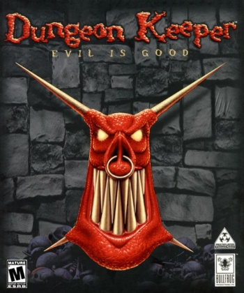Dungeon Keeper Box Art
