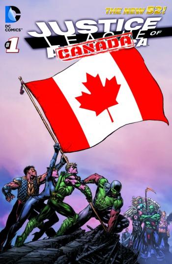 Justice League Canada Teaser