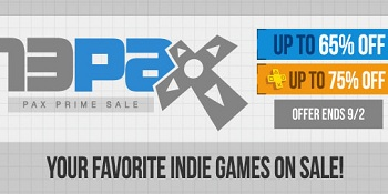 PSN indie Game Sale PAX