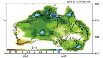Australian epic rainfall