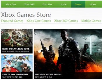 Xbox Games Store Replaces Xbox Live Marketplace | The Escapist