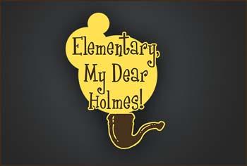Elementary My Dear Holmes art
