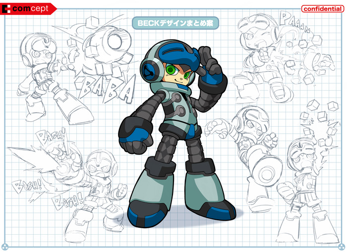 mighty no. 9 concept art 5