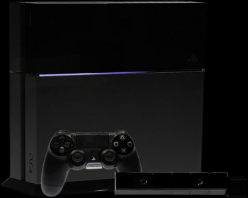 playstation 4 with camera