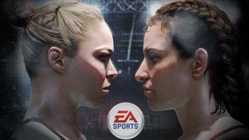 EA Sports UFC Rousey and Tate