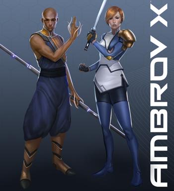 Ambrov X Character Creation