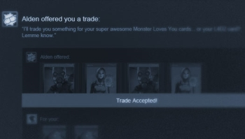 Steam Trade Offers screen