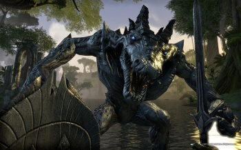 elder scrolls online promotional screenshot