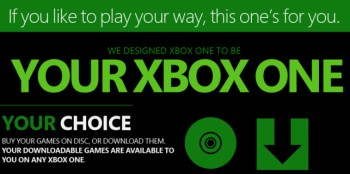 Xbox One infographic detail