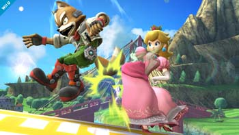 Princess Peach in Super Smash Bros. 3DS and Wii U