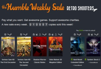 Humble Weekly Sale Retro Shooters