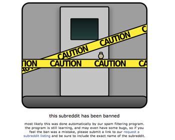 Subreddit findnavyyardshooters banned