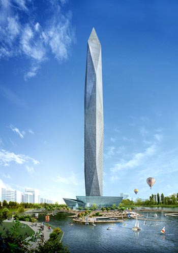 Proposed Infinity Tower