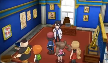 Pokemon X and Y screenshot