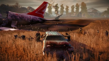 State of Decay airplane screen