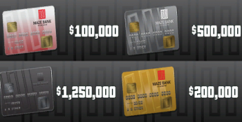Grand Theft Auto Online cash cards