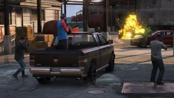 Grand Theft Auto Online screen