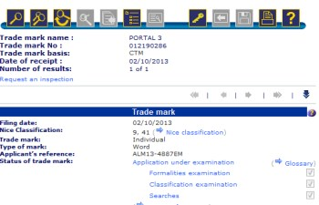 Portal 3 trademark filing
