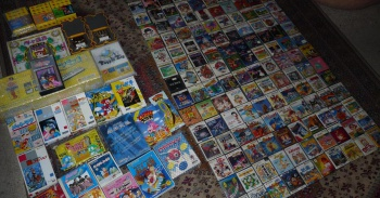 collection of Famicom games
