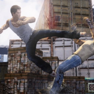 Sleeping Dogs jumpkick
