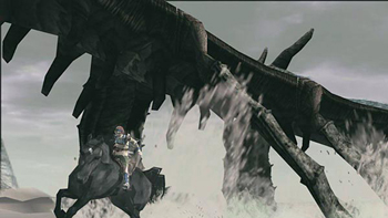 Shadow of the Colossus screen