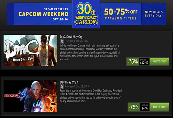 Capcom Steam Sale