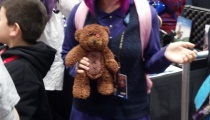 Classic Annie plus Tibbers! Tibbers ended up being the best way to identify Annie cosplay throughout NYCC.