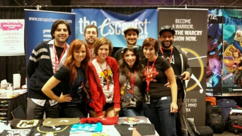 Escapist Crew at Comic Con embed