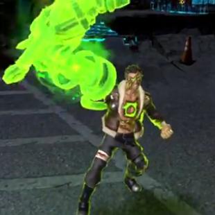 Infinite Crisis Atomic Green Lantern