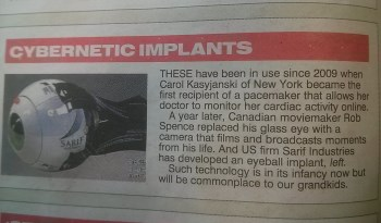 The Sun cybernetic implants pic