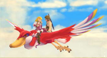 Legend of Zelda Skyward Sword official screenshot