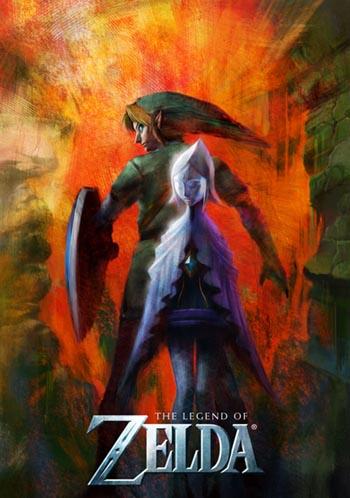 Legend of Zelda Skyward Sword official art