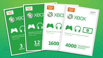 Xbox Live Currency from Coinstar
