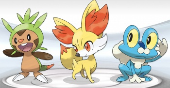 Pokemon Y and Pokemon x - Social Image