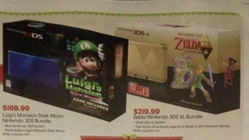 GameStop Ad Shows Zelda 3DS XL