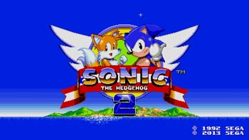 Sonic the Hedgehog 2 Mobile screen