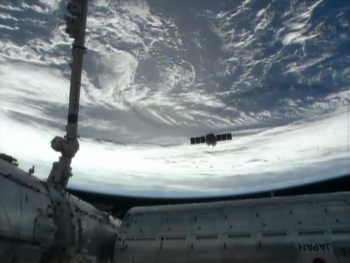 orbital cygnus depart 350