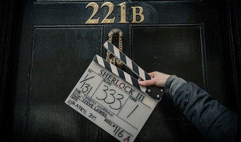 BBC Sherlock season 3 production