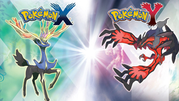 Pokemon X and Y Xerneas and Yveltal