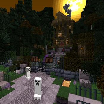 Minecraft Halloween - Main
