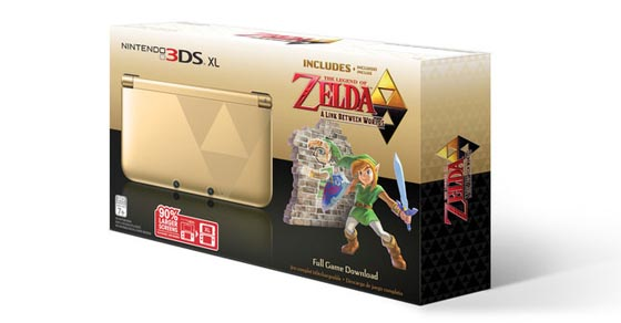 A Link Between Worlds Zelda 3DS XL