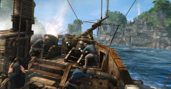 Assassins Creed 4 Black Flag ship